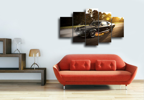 Hd Printed Ford Mustang Shelby Gt350 Canvas