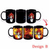 Changing Color Mug Dragon Ball Z Mug GOKU Heat Reactive Ceramic Super Saiyan (Coffee Cups)