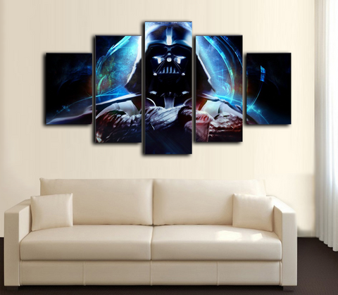 HD Printed Star War - Darth Vader 2 5 Piece Canvas
