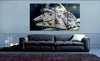 HD Printed Millennium Falcon 4 Pieces Canvas A