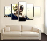HD Printed Dragon Ball Z - Super Saiyan 5 Piece Canvas