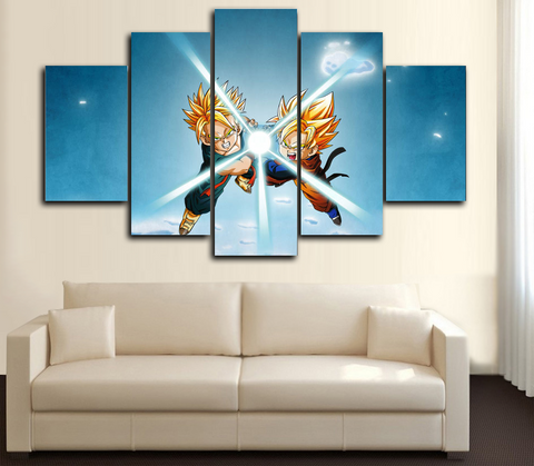 HD Printed Dragon Ball Z - Gohan 5 Piece Canvas