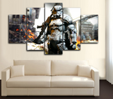 HD Printed New Storm Trooper 5 Piece Canvas