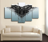 HD Printed Game of Thrones 5pcs Piece Canvas
