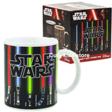 Star Wars Mug with Original packaging Lightsaber Heat Reveal Mug color change coffee cup sensitive Ceramic Mug