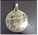 New Fashion Jewelry Mama Forever Necklace Stainless Steel Pendant Necklaces For Men Christmas Gift Necklaces
