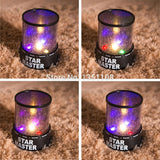 Romantic LED Starry Night Sky Projector Lamp Kids Christmas Gift Star Master light Lava Lamp NIVE