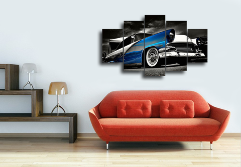 Hd Printed Buick Retro Car Canvas