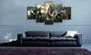 HD Printed Final Fantasy Set of Characters 5 Pieces Canvas