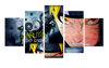 HD Printed Naruto - Won't Give Up 5 Pieces Canvas