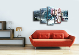 HD Printed Final Fantasy - Lightning 5 Pieces Canvas