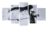 HD Printed Final Fantasy - Sephiroth 5 Pieces Canvas