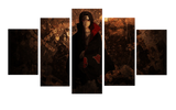 HD Printed Itachi Uchiha - Naruto 5 Pieces Canvas