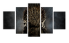 HD Printed Iron Throne - Game of Thrones 5 Pieces Canvas
