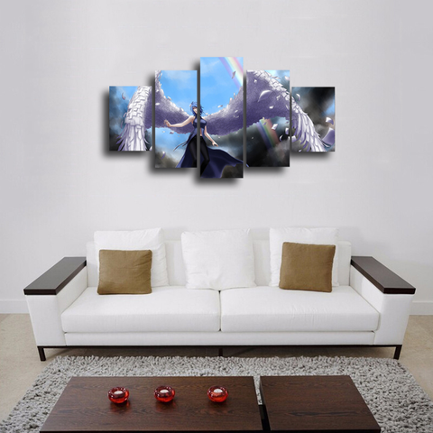 HD Printed Naruto - Konan 5 Pieces Canvas