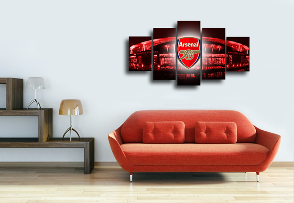 HD Printed Arsenal - Emirates Stadium 5 Pieces Canvas