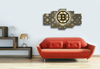 HD Printed Boston Bruins Hockey Logo 5 Piece Canvas