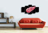 HD Printed Detroit Red Wings 5 Piece Canvas