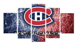 HD Printed Montreal Canadiens 5 Piece Canvas