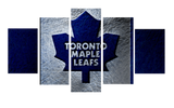 HD Printed Toronto Maple Leafs 5 Piece Canvas