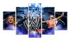HD Printed Smackdown 5 Pieces Canvas