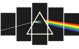 HD Printed Pink Floyd - The Dark Side of the Moon A 5 Pieces Canvas