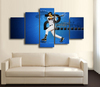 HD Printed Derek Jeter Baseball 5 Pieces Canvas Style B