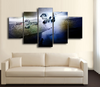 HD Printed Derek Jeter Baseball 5 Pieces Canvas Style D