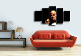 HD Printed The GodFather Movie 5 Pieces Canvas