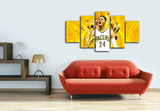 HD Printed Paul George Indiana Pacers Basketball 5 Pieces Canvas