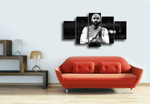 HD Printed Thierry Henry 5 Pieces Canvas