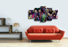 HD Printed Barca Champion League 2015 5 Pieces Canvas