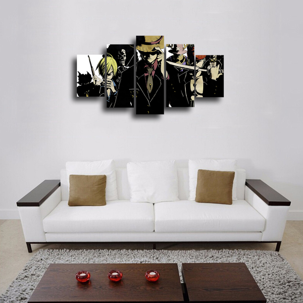 HD Printed DubStep One Piece 5 Pieces Canvas