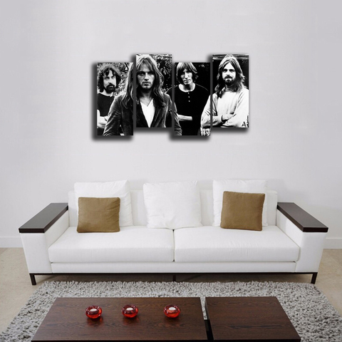 HD Printed Pink Floyd 5 Pieces Canvas