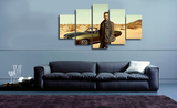 HD Printed Fast and Furious - Paul Walker 5 Piece Canvas