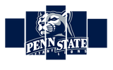 HD Printed Penn State College Logo 5 Pieces Canvas