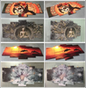 HD Printed Naruto Shippuuden 5 Pieces Canvas