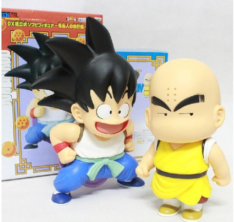 Dragon Ball Z - Goku and Krillin Figure 2 Pieces/ a Lot