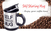 1Pc 400Ml Mug Automatic Electric Lazy Self Stirring Mug Automatic Coffee Milk Mixing Self Stirring Mug Cup Stainless Steel