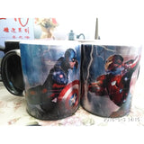 Captain America: Civil War Mug Reactive Magic Color Changing