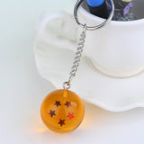 Dragon Ball Z DBZ Crystal Ball (3cm) 1-7 Stars Keychain