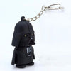Star Wars Keyring Light Black Darth Vader Pendant LED KeyChain For Man Gift GM567