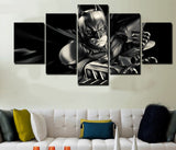 HD Printed Batman 5 Piece Canvas