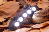 Details about Ultra Bright 5 LED Clip On Cap Light Hard Hat Outdoor Fishing Camping Cycling