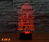 3D Led Tabel Lamp Flash Toy Visual Illusion
