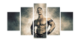 HD Printed John Cena 5 Pieces Canvas A