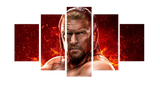 HD Printed Triple H 5 Pieces Canvas B