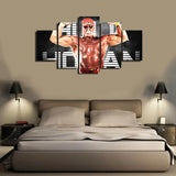 HD Printed Hulk Homan 5 Pieces Canvas B