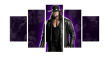 HD Printed The Undertaker 5 Pieces Canvas A