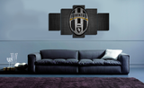 HD Printed Juventus 5 Pieces Canvas
